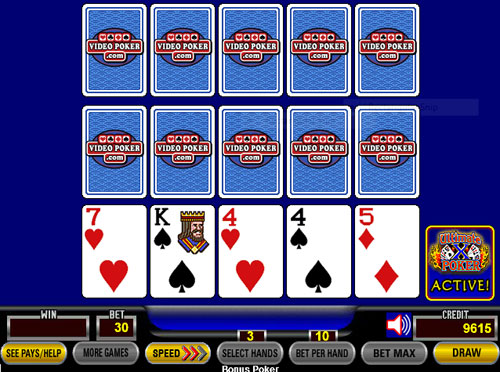 The best way to earn millions with video poker