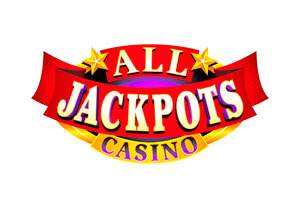 all jackpots logo review