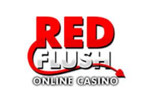 red flush logo review